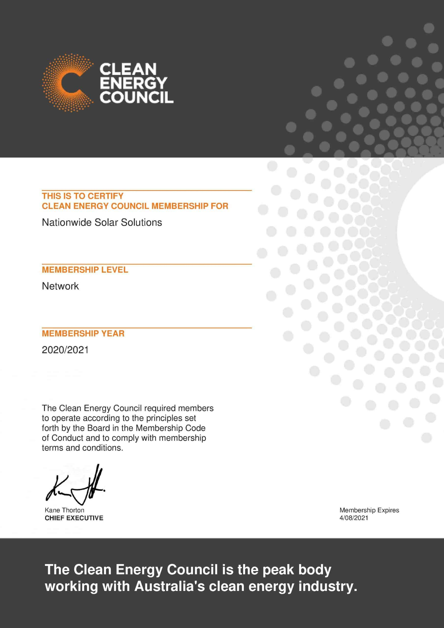 Clean Energy Council Memebrship 2021 scaled