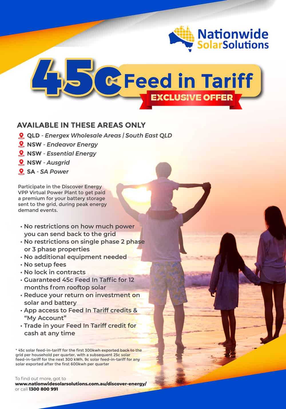 45C feed in tariff update