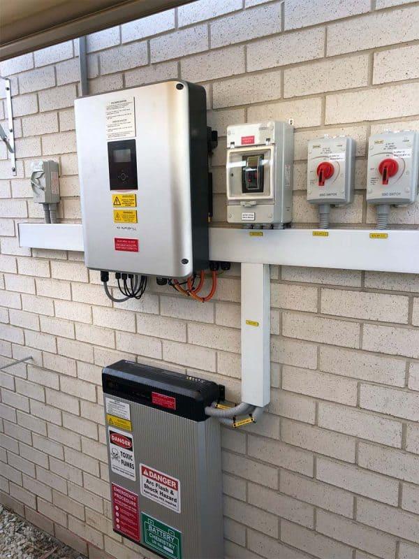 Residential Solar Battery Installations