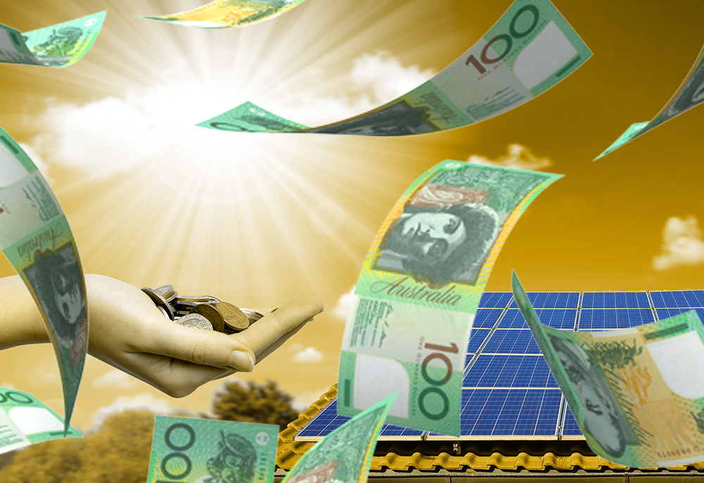Solar Panels With Money