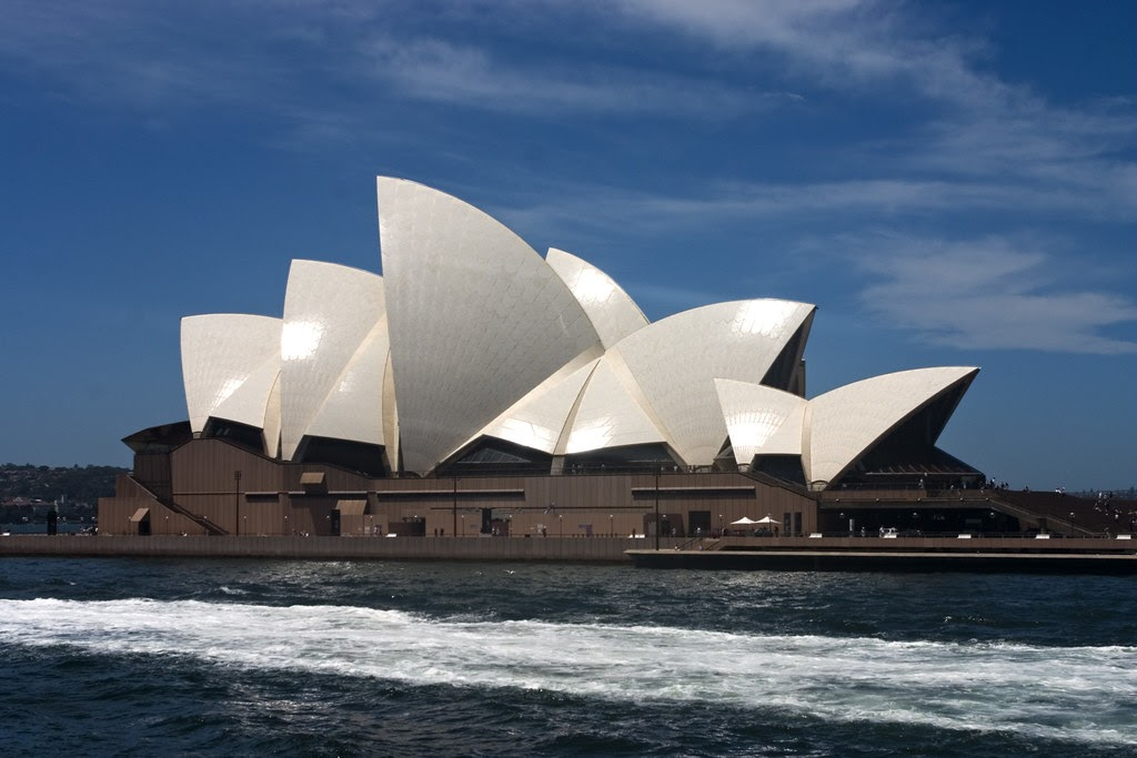 """""""Sydney opera house"""" by jimmyharris is licensed under CC BY 2.0"""